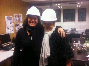 Conservatorium's GM Madelon Boom and Mary Gostelow