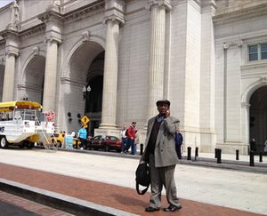 In front of Union Station