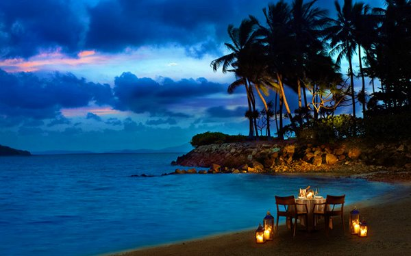 Private dining experiences at InterContinental Hayman Island Resort