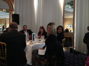 National Geographic's Annie Fitzsimmons at IHG's lunch...