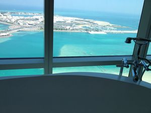 View from a bathtub