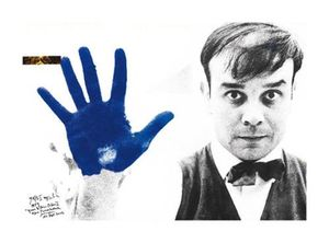 Hand - and Yves Klein