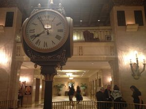 Fairmont Royal York's celebrated lobby clock