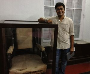Warren Hastings' chair, and Ifte