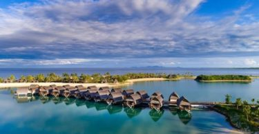 Fiji Marriott Resort Momi Bay's overwater bungalows