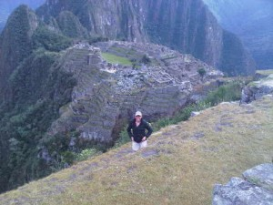 Luxury travel writer Mary Gostelow visits Machu Pichu, Peru