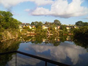 Rosewood Mayakoba's room 206 looks out over an inner lagoon