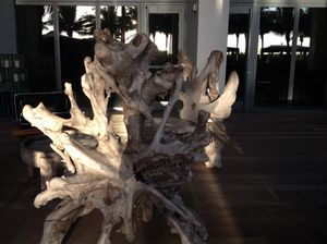 Is this driftwood chair considered art or craft?