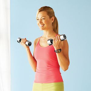 Small weights, ideal for strength training