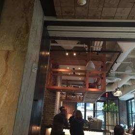 Looking into Jams restaurant