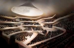 Luxury travel - Cologne, Germany Elbphilharmonie's model
