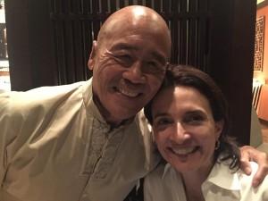 Ken Hom and Andrea Natal