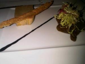 Cold foi gras at St Regis Singapore