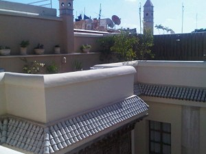 Ryad's roof tops