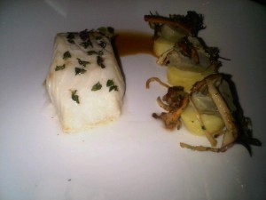 Cod by St Regis Singapore's chef Alex Lozachmeur, who used to cook with Alain Ducasse