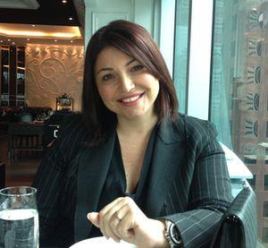 STOCK - and hotel - conductor Inna Levitan