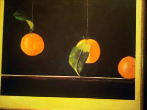 One of the paintings hanging in Park Hyatt Aviara
