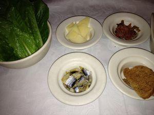 Caesar ingredients....
