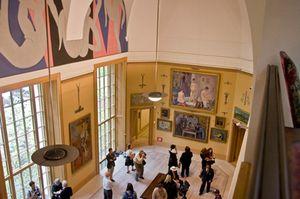 Barnes Foundation, inside...