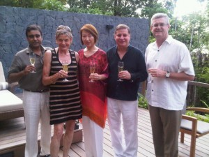 Vikram Singh, Mary Gostelow, Ivy and Franz Zeller, Peter Hourigan