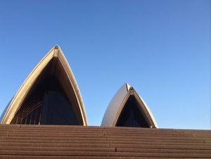 Sydney Opera House peaks
