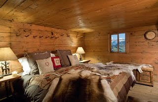 The Walig Hut's bedroom