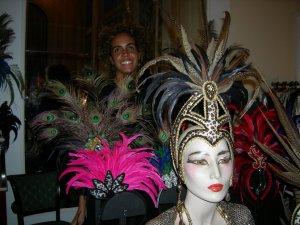 Carnival headpieces