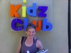 Mary Gostelow at Magagan's luxury Kidz Club
