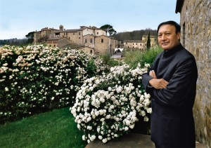 Luxury hotels and spas - Dr Mosaraf Ali at Castel Monastero