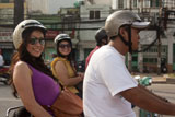 The ideal way to tour Ho Chi Minh City - by Vespa