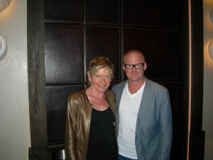 Heston Blumenthal and Mary Gostelow