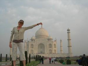 Mary also loves India