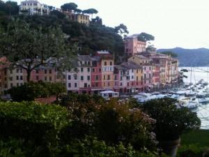 Colorful Portofino harbour