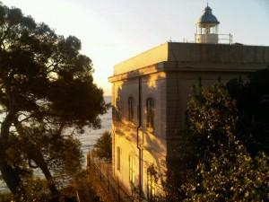 Portofino lighthouse, early dawn