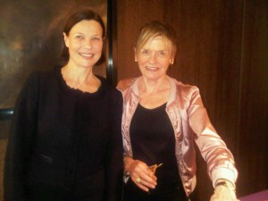 Marie-Laure Akdag of 45 Park Lane and Mary Gostelow
