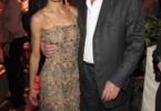 Vanessa Mae and Alain Delon at Mandarin Oriental Paris