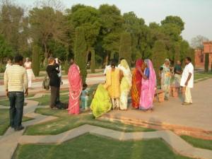 Photo time, Taj Mahal, Agra