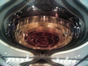 Luxury hotels and travel - InterContinental Hong Kong's wave-shaped ceiling