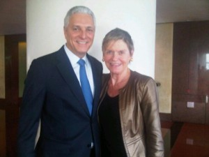 Luxury hotels and travel - InterContinental Hong Kong's Jean-Jacques Reibel and Mary Gostelow