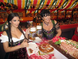 Kim Kardashian at Oktoberfest 2011