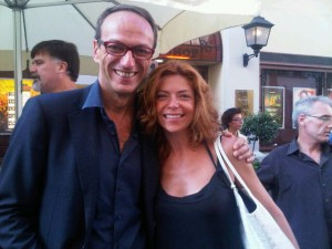 Philippe Leboeuf and Pepita Diamand