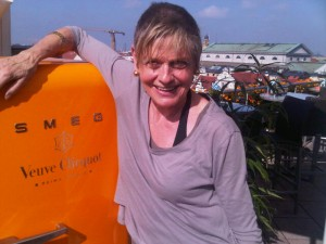 The Smeg, in Veuve Clicquot orange