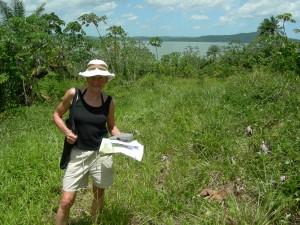 Mary Gostrelow at future Missoni resort in Brazil