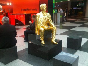 Luxury hotels and travel - Scene at Munich airport