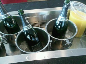 Luxury hotels and travel -Laurent-Perrier on the Champagne Bar, British Airways' Executive Club Gold Lounge