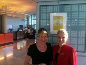 Luxury hotels and travel - Mary Gostelow and Kempinski's Lady in Red
