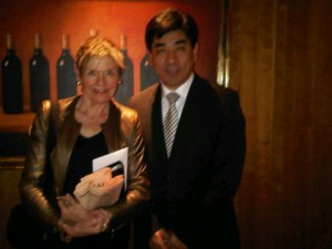 Luxury hotels and travel - Mary Gostelow and Park Hyatt Hamburg's general manager Tashi Takang