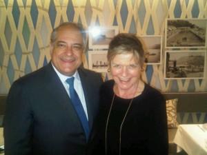 Luxury hotels - Bernard Lambert, CEO/MD of Sociéte des Bains de Mer and Mary Gostelow