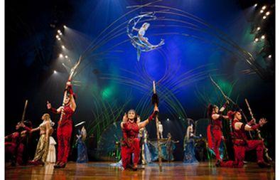 Amaluna, from Cirque du Soleil