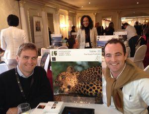The Royal Portfolio table at ILTM Africa